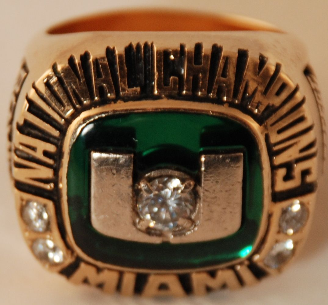 Image Result For Miami Hurricanes  Rings