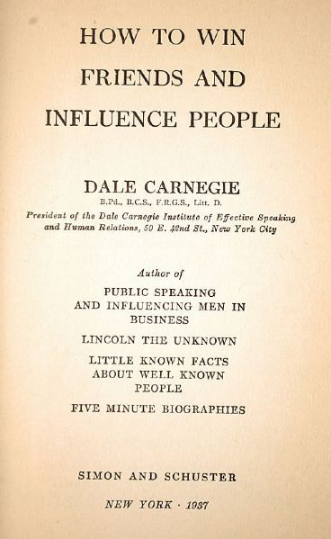 dale carnegie how to win friends and influence people vietnamese