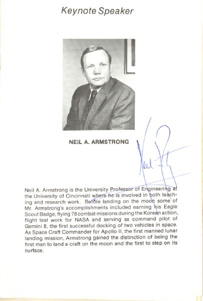 Lot Detail - Neil Armstrong