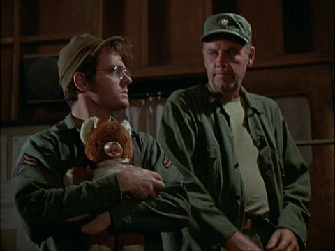 M*A*S*H  Radar's Iconic Teddy Bear