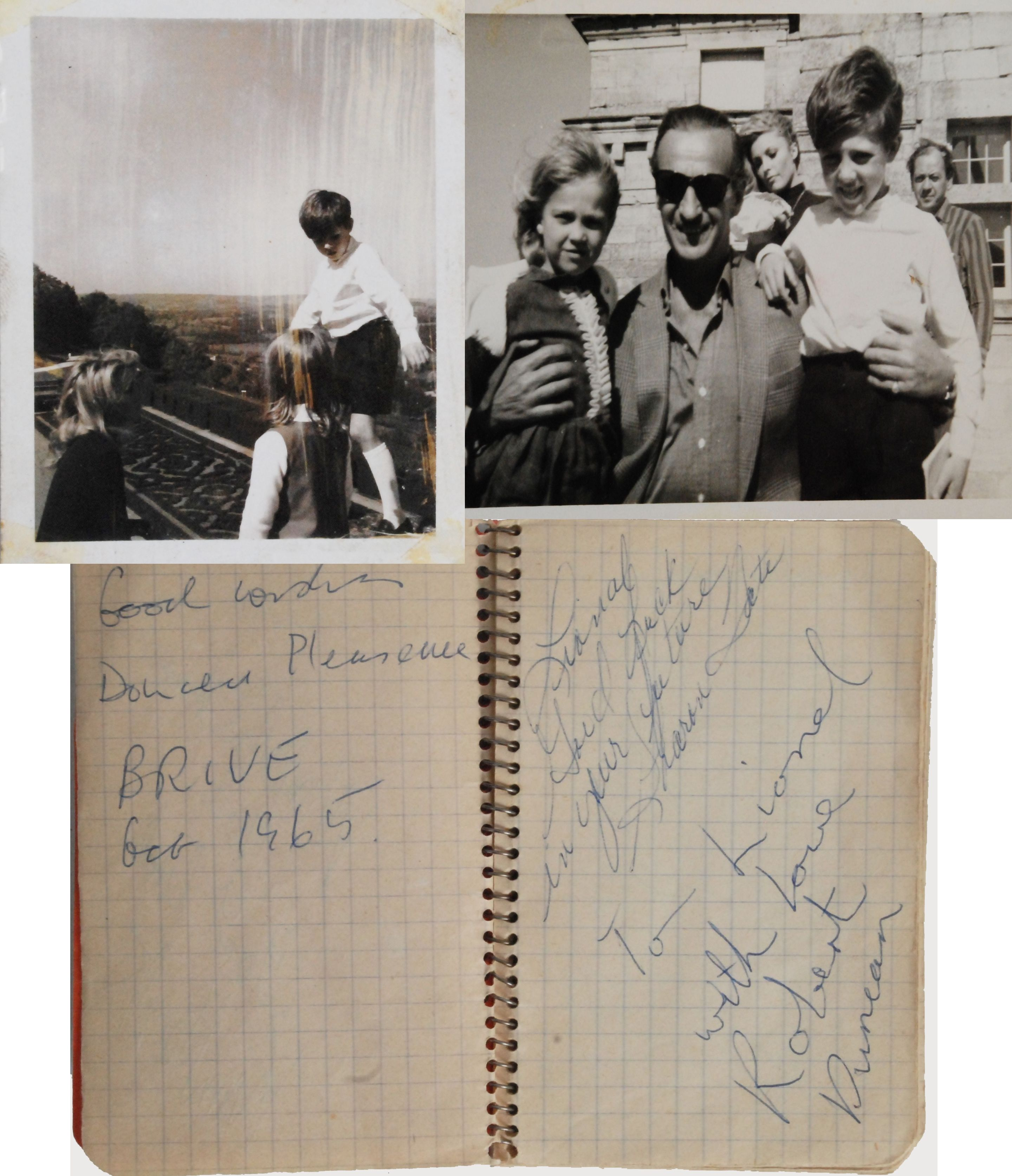 lot detail sharon tate signed quoteye of the devilquot collection