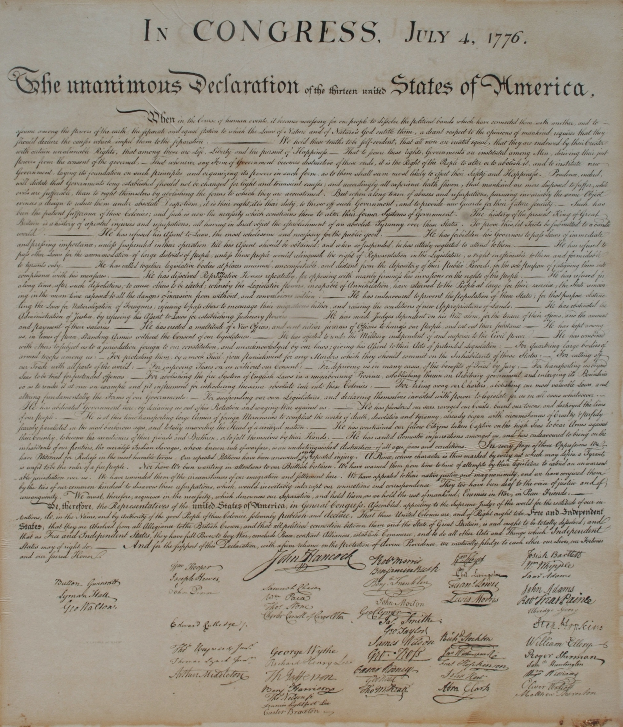 declaration of independence docent script Welcome to prezi, the presentation software that uses motion, zoom, and spatial relationships to bring your ideas to life and make you a great presenter.