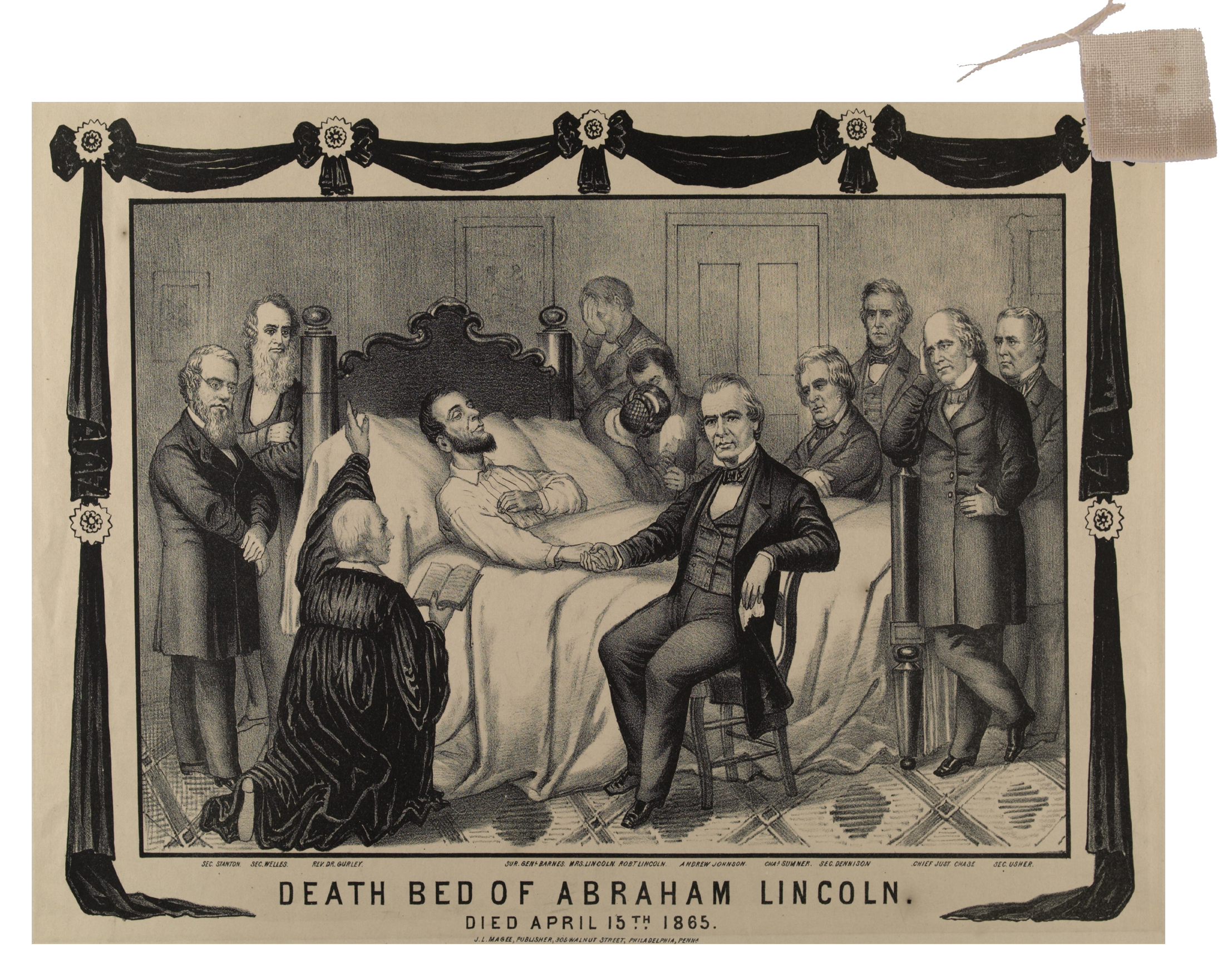 abraham lincoln assasination notes Abraham lincoln died 153 years ago today at ford's theater, cut down  to  receive the hand-delivered note from mrs lincoln that she and the.