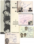 The Beatles:. Autographs of John Lennon, Paul McCartney and George Harrison and more 60s Groups