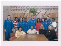 Rare Space Shuttle Columbia STS-107 Signed Photo