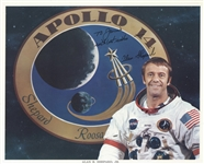 Alan Shepard Signed Nasa Photo