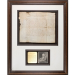 Benjamin Franklin Signed Document