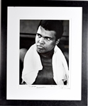"Magnificent Neil Leifer 14""x20"" Close-up of Muhammad Ali Signed by Both"