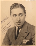 Vintage 20s Harold Arlen Signed Photo with AMQS (Wizard Of OZ Composer)