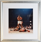 Ali Vs. Liston One of the Most Iconic Sports Photos Ever Taken!