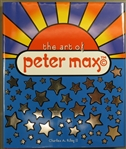 Peter Max Signed Book