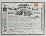 AMERICAN MERCHANTS UNION EXPRESS COMPANY Signed by Fargo
