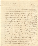 Letter To Anthony Wayne Docketed