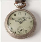 Rare Lindbergh Flight Commemoration Pocket Watch 1927