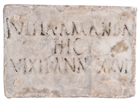 Ancient Roman Tablet