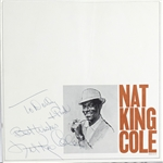 Nat King Cole Brochure
