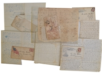 Twenty Six Civil War-Dated Letters from Corporal George W. Knott Company K 112 New York volunteers Infantry