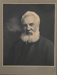 "One Of A Kind  32""x24"" Signed Image of Alexander Graham Bell"