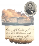 Abraham Lincoln efforts to reinforce Fort Sumter, Prior to the Civil War, Note to Secretary of Navy