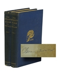 "Clarence Darrow Signed ""The Antiquity of Man"""