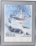 Naval Aviation Signed Lithograph