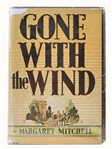 Margaret Mitchell Signed Gone With The Wind -- First Edition