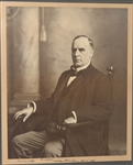 "William McKinley Signed Oversize Photograph  Incredible 20""x24"""