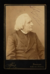 Franz Liszt Signed Photo