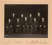 Vinson Supreme Court Signed Presentation Photo