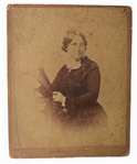 Rutherford B. Hayes Signed image of First Lady