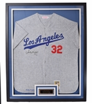Sandy Koufax Signed Los Angeles Dodgers Jersey
