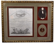 James K. Polk Signed Appointment