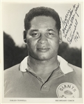 Emlen Tunnell (first African American to be inducted into the Pro Football Hall of Fame.)