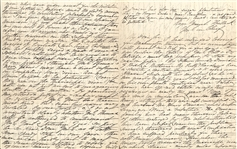 Important Mary Duncan Plantation Letter asking General Halleck for protection