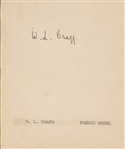 William Lawrence Bragg Nobel Prize in Physics