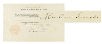 Abraham Lincoln Appointment (Pristine Condition)